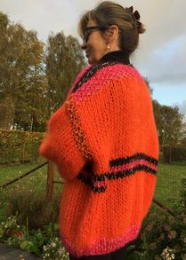 bernadette cardigan ORANGE